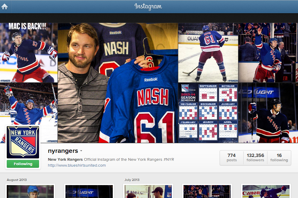 10 Instagram Accounts Every New York Rangers Fan Should Follow