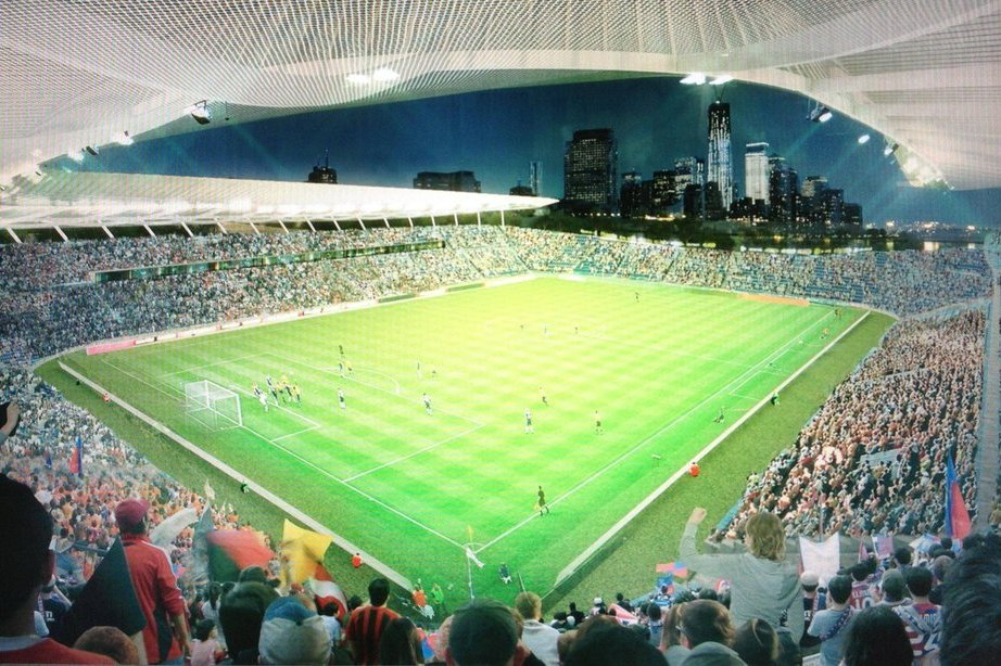 Madison Square Garden: Images Of New York City FC Pier 40 Stadium Are Too Good To