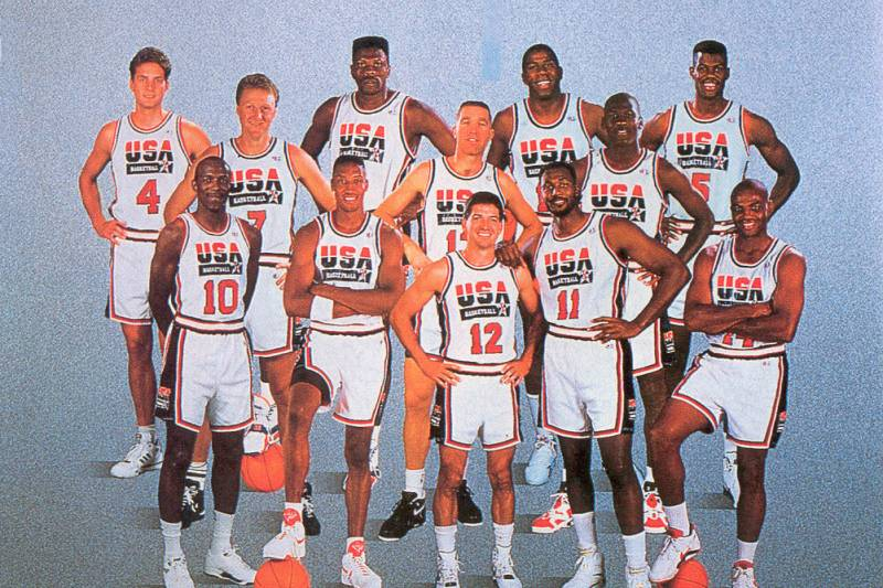 on sale 2ec92 23441 Throwback Thursday: The 1992 Dream Team Wins Gold in ...