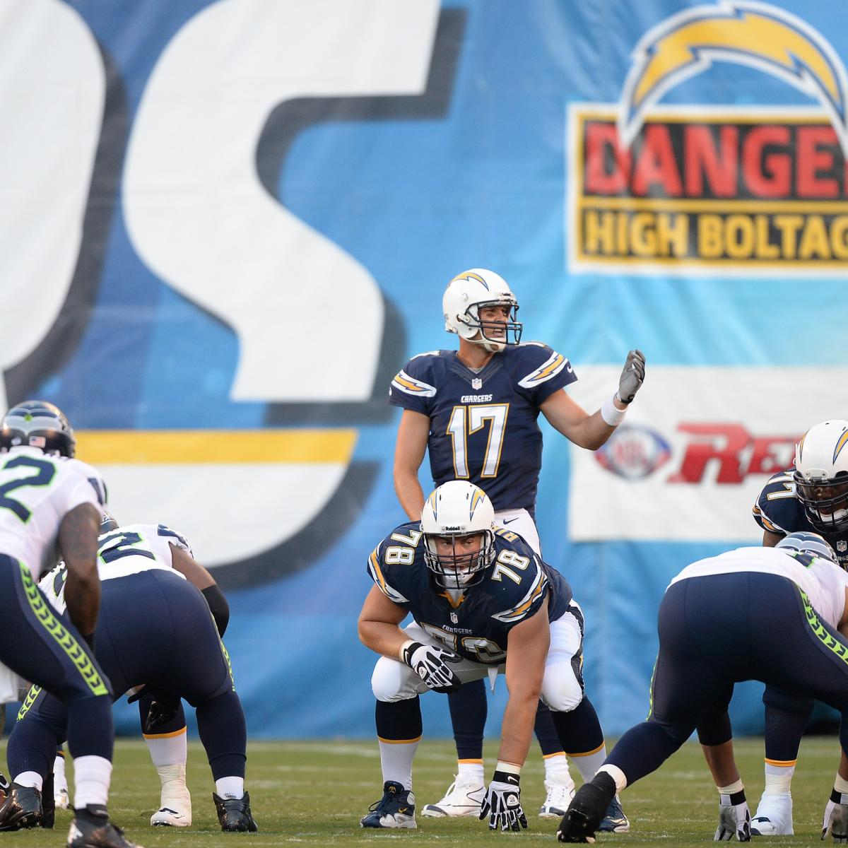 San Diego Chargers First Round Draft Picks: San Diego Chargers Winners And Losers Through Week 2