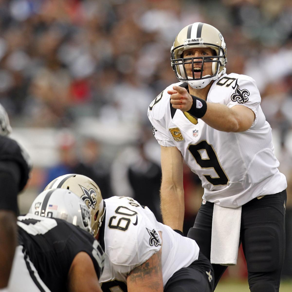 Raiders Vs. Saints: TV Info, Spread, Injury Updates, Game