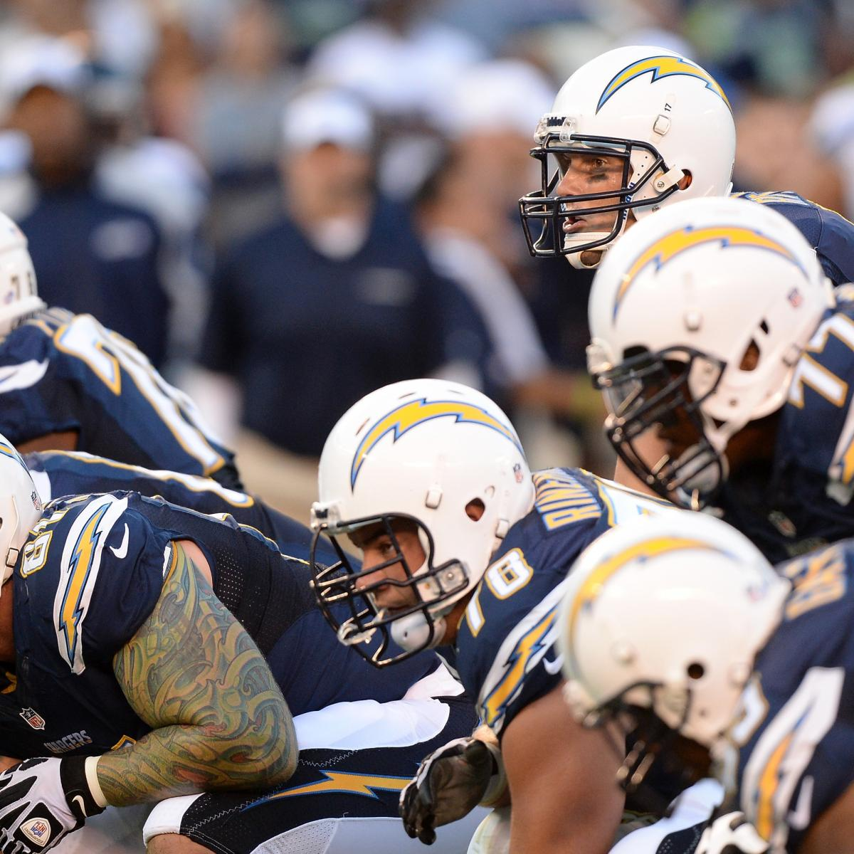 San Diego Chargers Floyd: San Diego Chargers' Most Intriguing Preseason Stats After