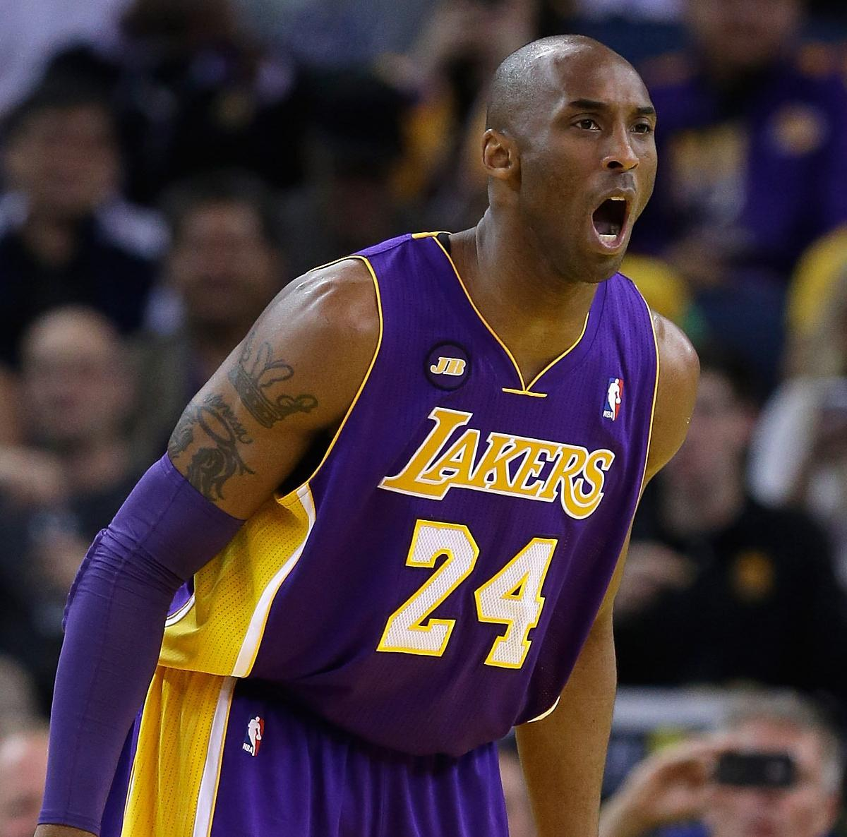 Why Kobe Bryant's Path to Title No. 6 Has Never Been a Longer Road ...