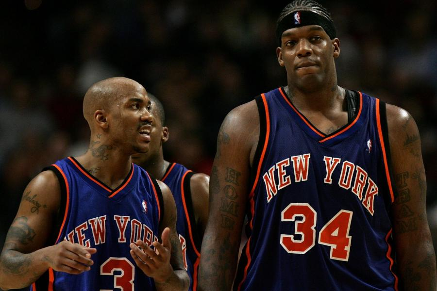 Image result for Larry Brown Eddy Curry Stephon Marbury