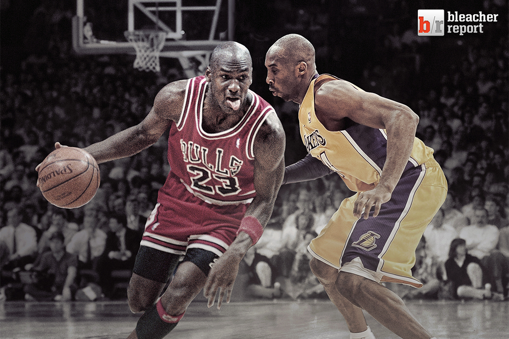 226bc4eb Kobe Bryant vs. Michael Jordan: Comparing the G.O.A.T. to the Birthday Boy