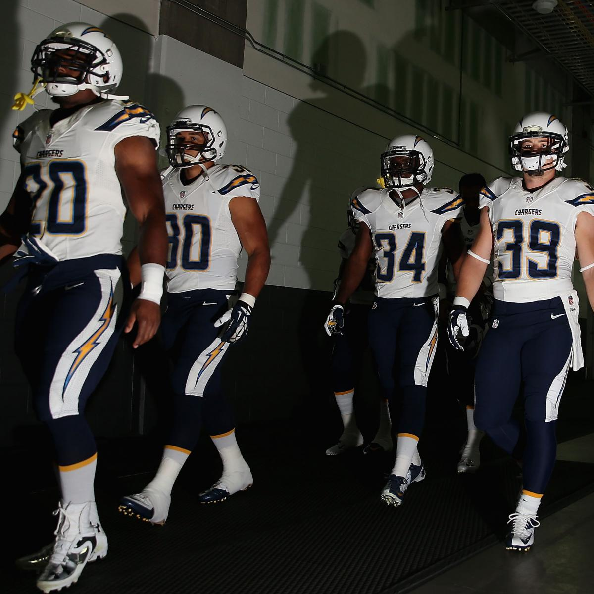San Diego Chargers Bleacher Report: San Diego Chargers: Predicting The Final 53-Man Roster