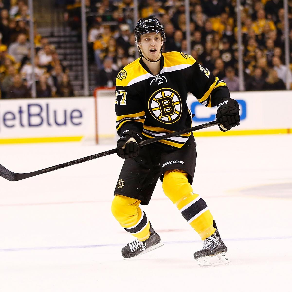 5-Year Projection For Boston Bruins Defenseman Dougie