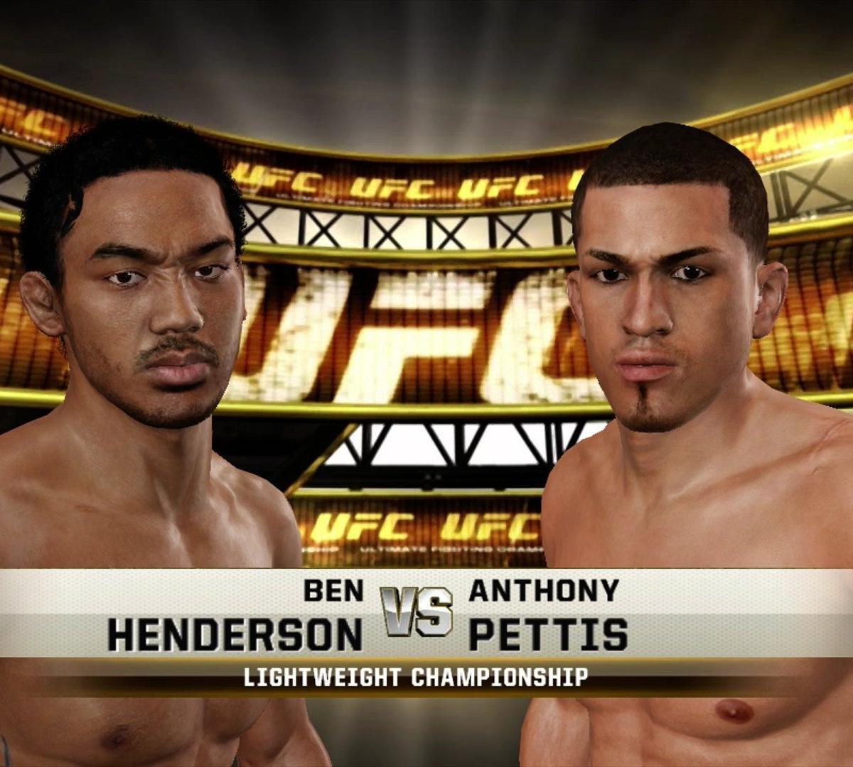 UFC 164: Benson Henderson Vs. Anthony Pettis Simulated