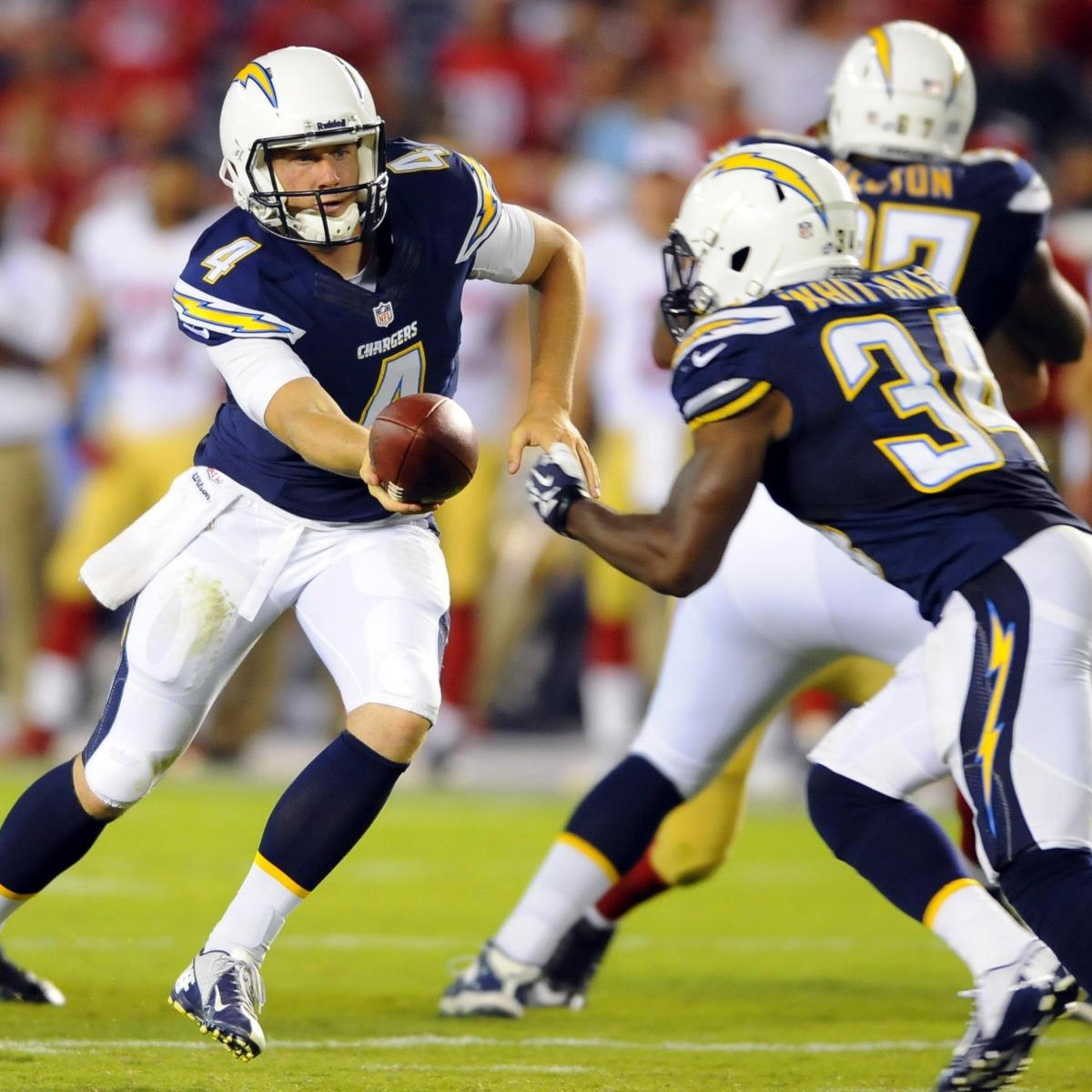 San Diego Chargers Depth Chart 2013: San Diego Chargers Team Roster: Report Card Grades For