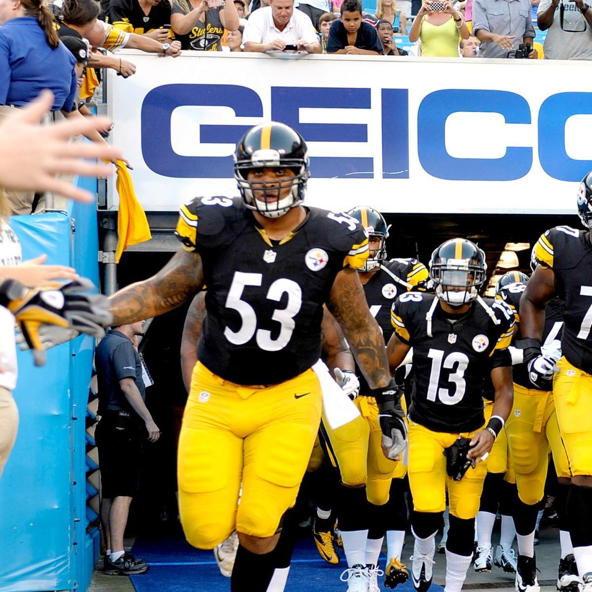 Blazer Team Roster 2013: Pittsburgh Steelers 2013 Team Roster: Report Card Grades