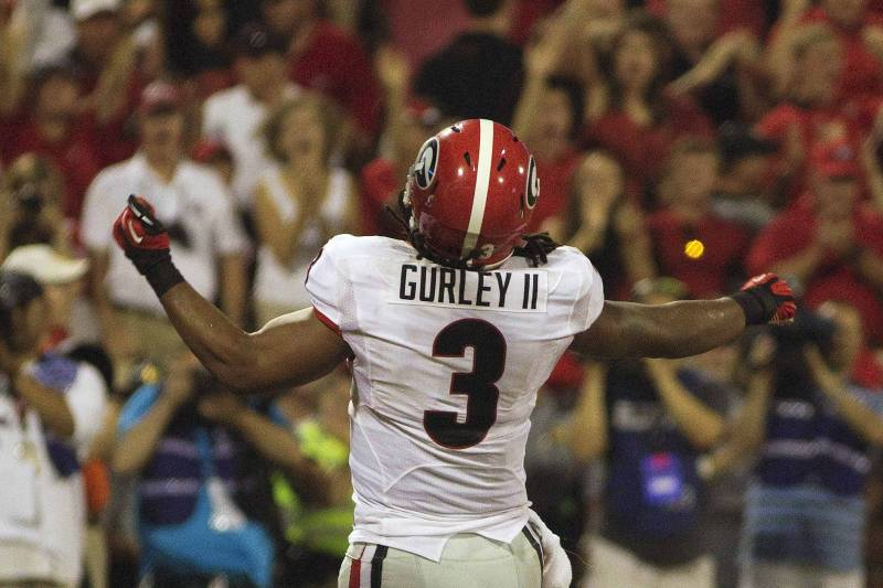 watch 5d410 2d886 Georgia's Todd Gurley Highlights SEC Football Players of the ...