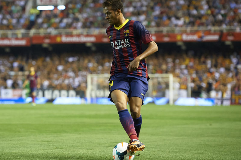Barcelona's Neymar Reportedly Signed for Real Madrid in 2006