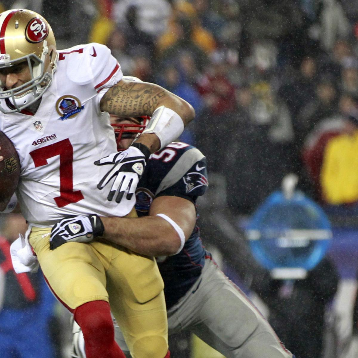 Should The San Francisco 49ers Fear For Colin Kaepernick's