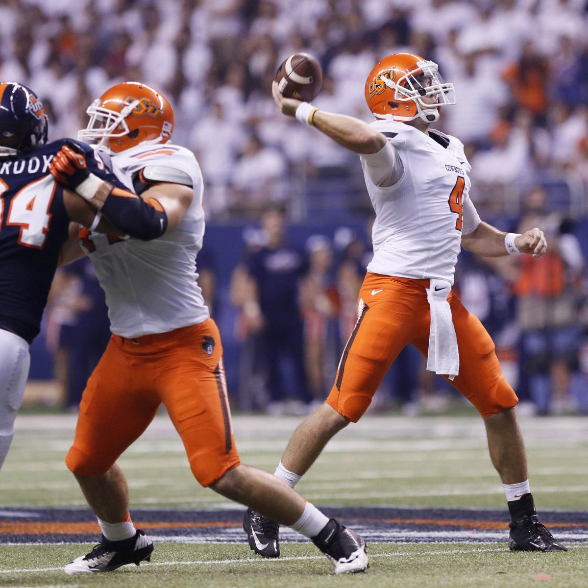 Big 12 Football: Oklahoma State Moves Up, Texas Drops Out ...