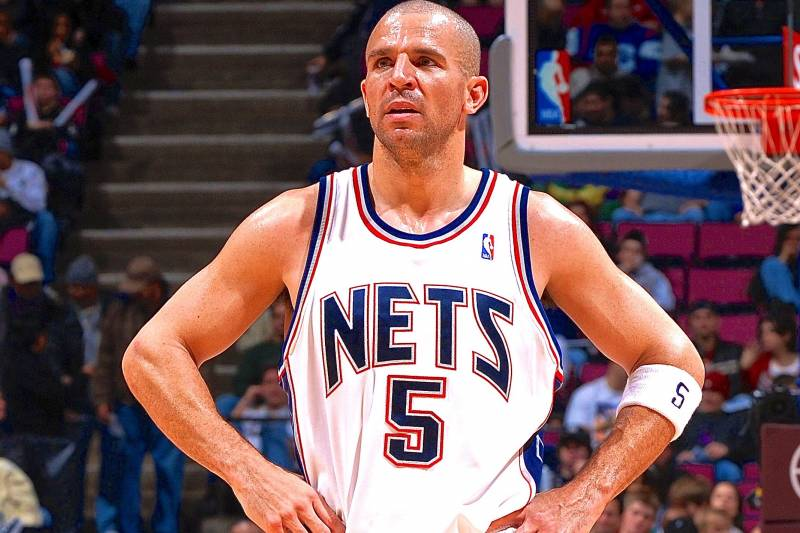 fa921bde355 The Brooklyn Nets have announced that they will retire Jason Kidd s No. 5  jersey