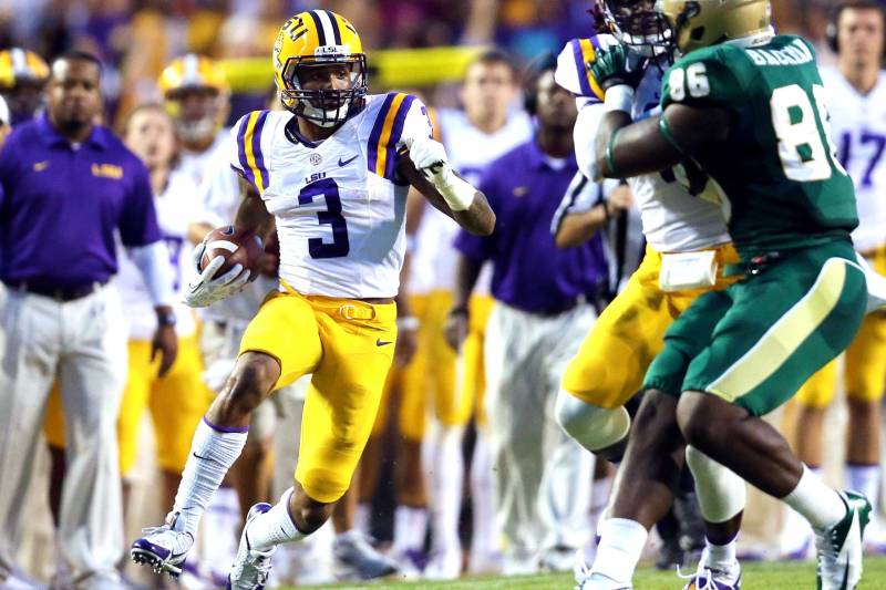 14b26425 Film Study: LSU Football's Odell Beckham and the Art of the Punt ...