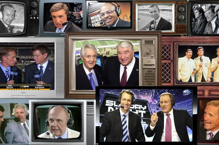 The 25 Greatest Nfl Announcers Of All Time Bleacher Report Latest News Videos And Highlights