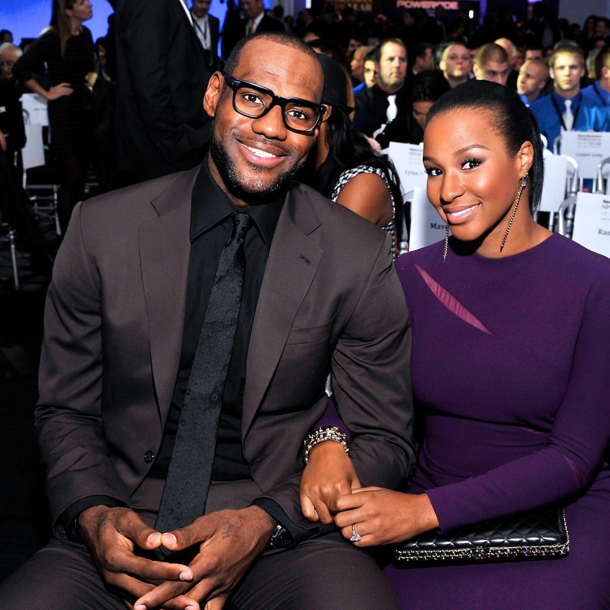 LeBron James and Savannah Brinson Wedding: Attendees ...