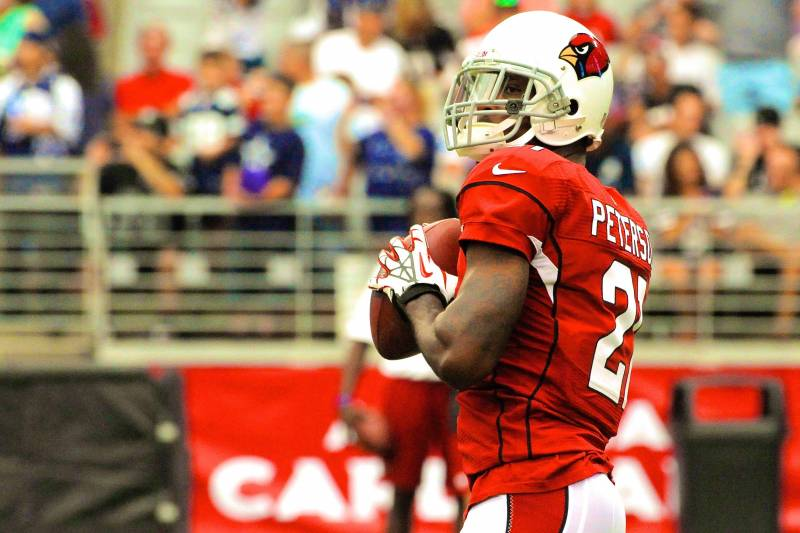 buy online 37622 5dde1 Cardinals CB Patrick Peterson Showcases His Skills by ...