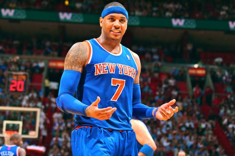 5e6515025ba Why Carmelo Anthony Would Never Consider Leaving NY Knicks In Free Agency