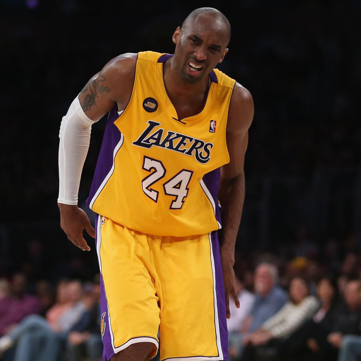 Breaking Down The Steps Of Kobe Bryant S Return From