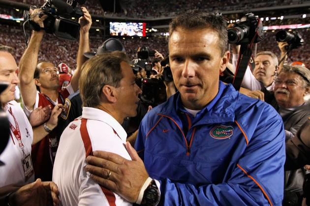 forget oregon alabama nick saban vs urban meyer is the bcs title