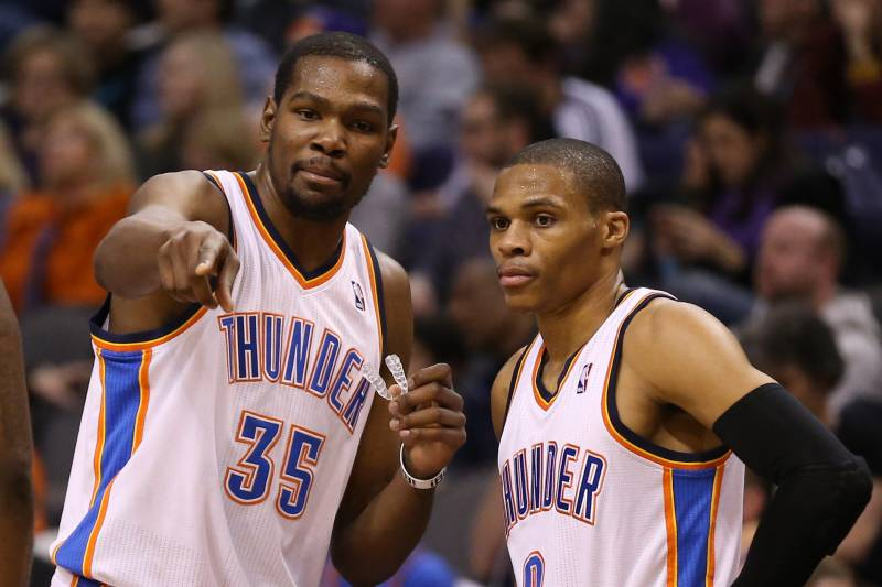 10788365a18d Kevin Durant-Russell Westbrook Duo Enough for OKC Thunder to Be ...