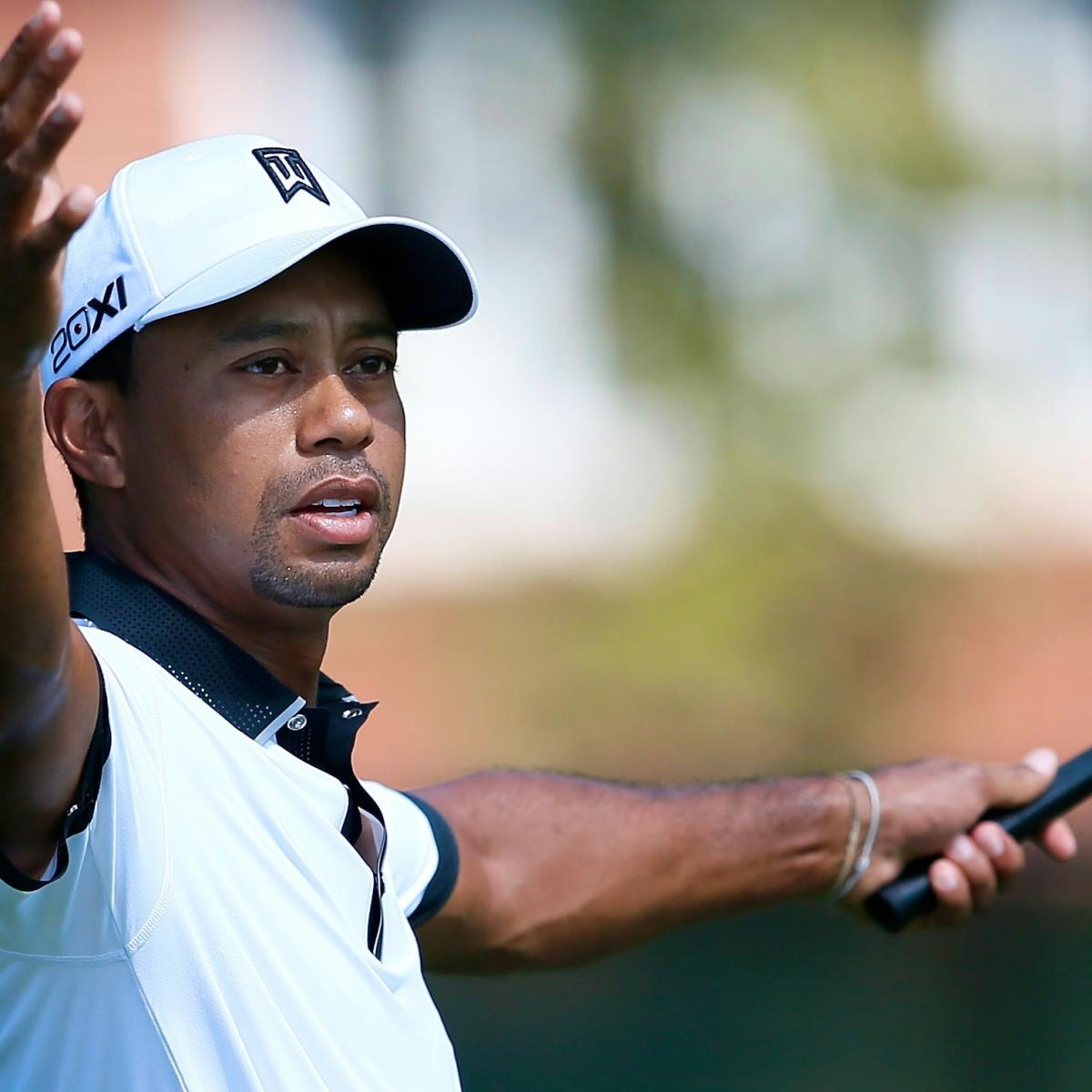 Tiger Woods at Tour Championship 2013: Day 2 Recap and ...