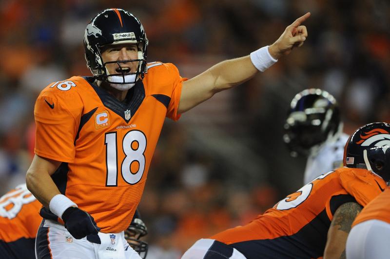 Peyton Manning's Fantasy Value Won't Drop After Ryan Clady's Injury