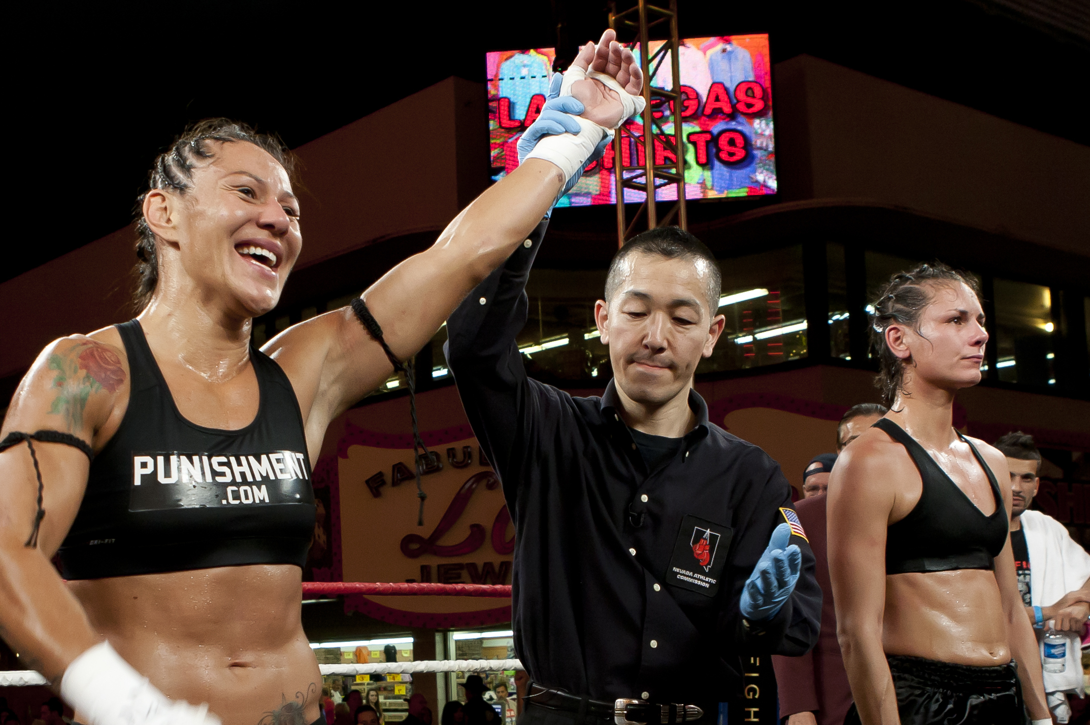 MMA Veterans Cyborg and Cosmo Victorious at Lion Fight 11 | Bleacher