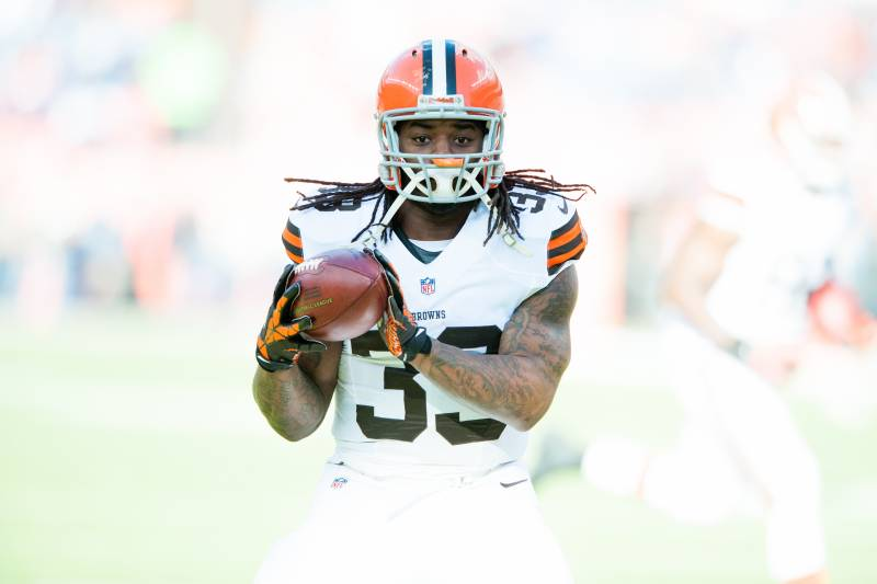 1d8fe96eb9b Trent Richardson was the best running back to join the Browns in a very  long time