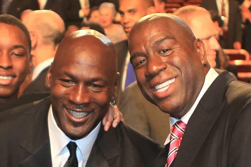 Magic Johnson Calls Michael Jordan the Greatest 1-on-1