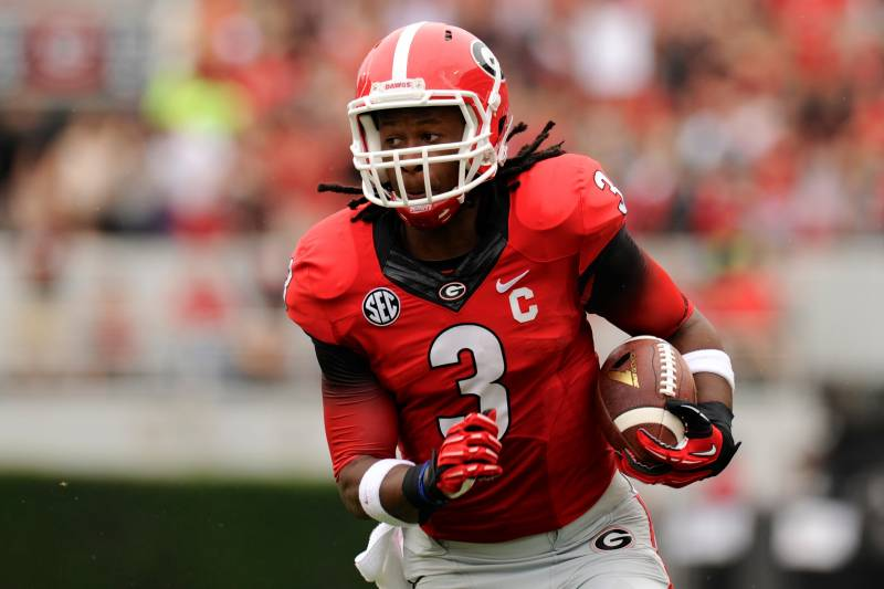 new product 8bf35 7490d LSU vs. Georgia: Stat Predictions for Todd Gurley and Aaron ...