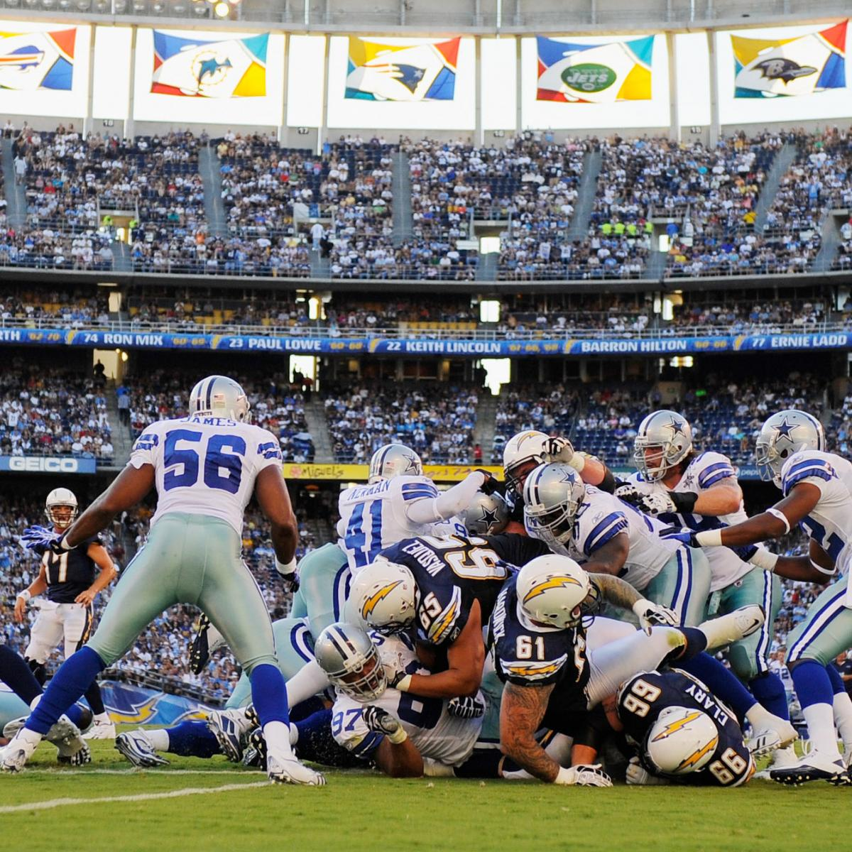 San Diego Chargers Dallas Cowboys: 5 Reasons Why Dallas Cowboys Should Beat San Diego