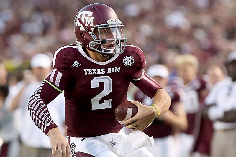 new product ada80 071e1 ESPN Analyst Compares Johnny Manziel to Brett Favre ...