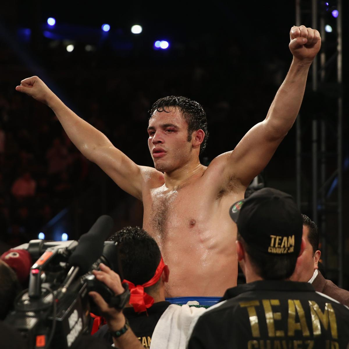 Julio Cesar Chavez Jr.'s Win Highlights Boxing's Continued