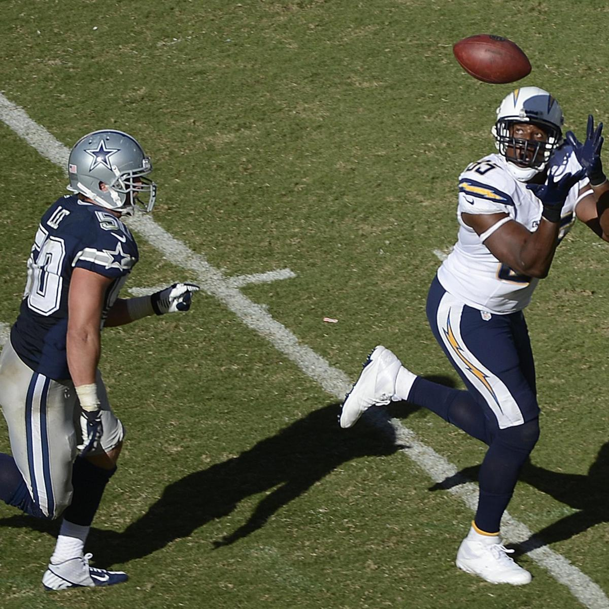 San Diego Chargers Defensive Line: San Diego Chargers Positional Grades Vs. Cowboys