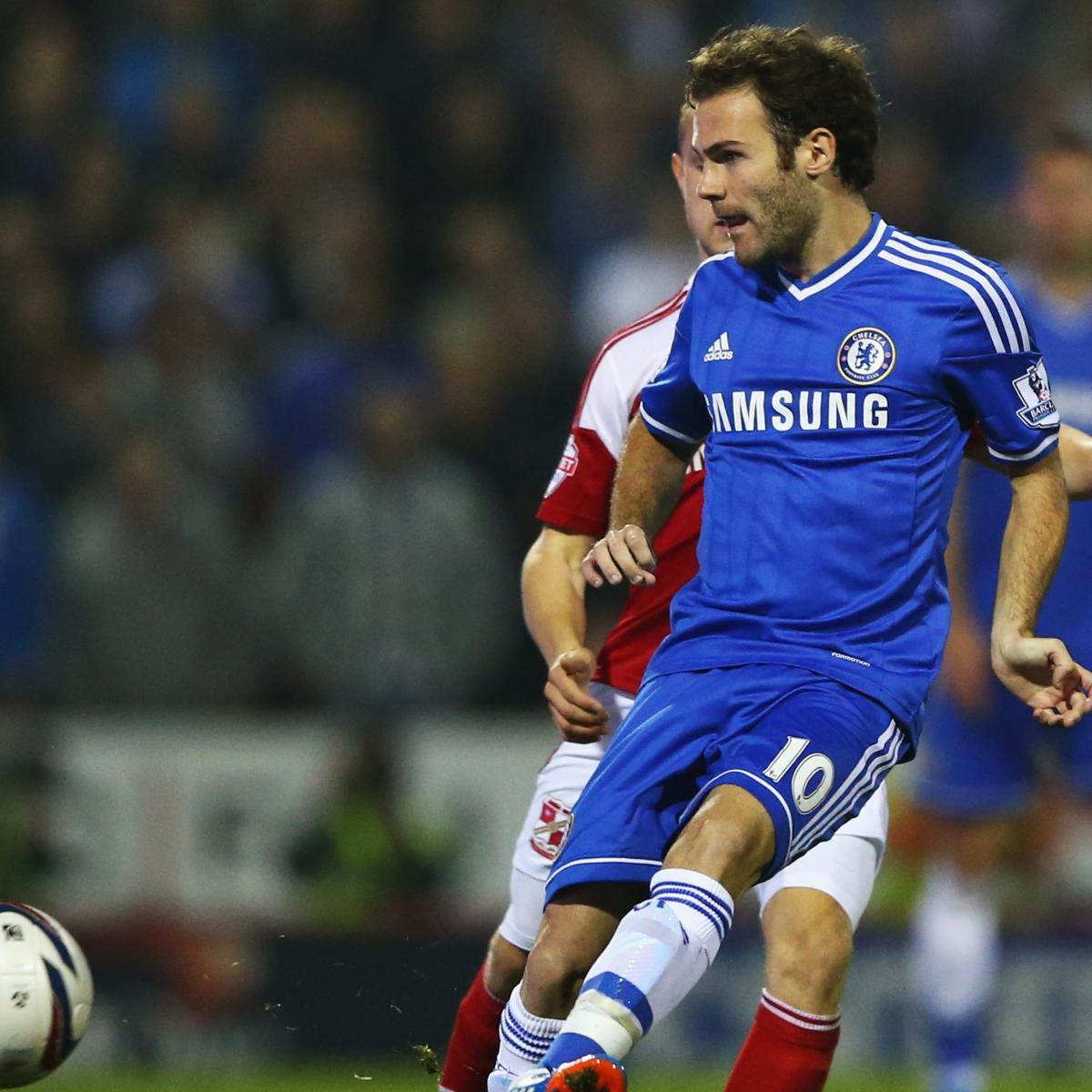 Steaua Bucuresti vs. Chelsea: Jose Mourinho Must Trust Juan Mata in Romania  | Bleacher Report | Latest News, Videos and Highlights