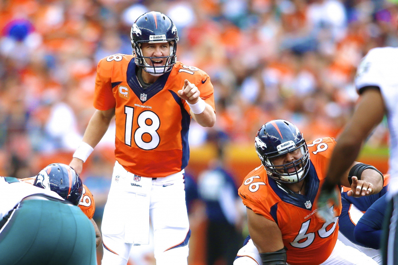 Someone Shouted 'Papa John's' Before Peyton Manning Pass, and We Want Answers