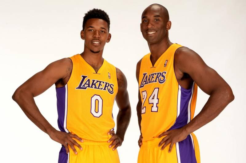 6e8547fd5762 Nick Young Already Trash Talking Teammate Kobe Bryant