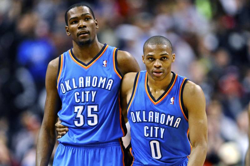 7d56a488e3dc How Russell Westbrook s Absence Could Impact Kevin Durant s 2013-14 MVP Case
