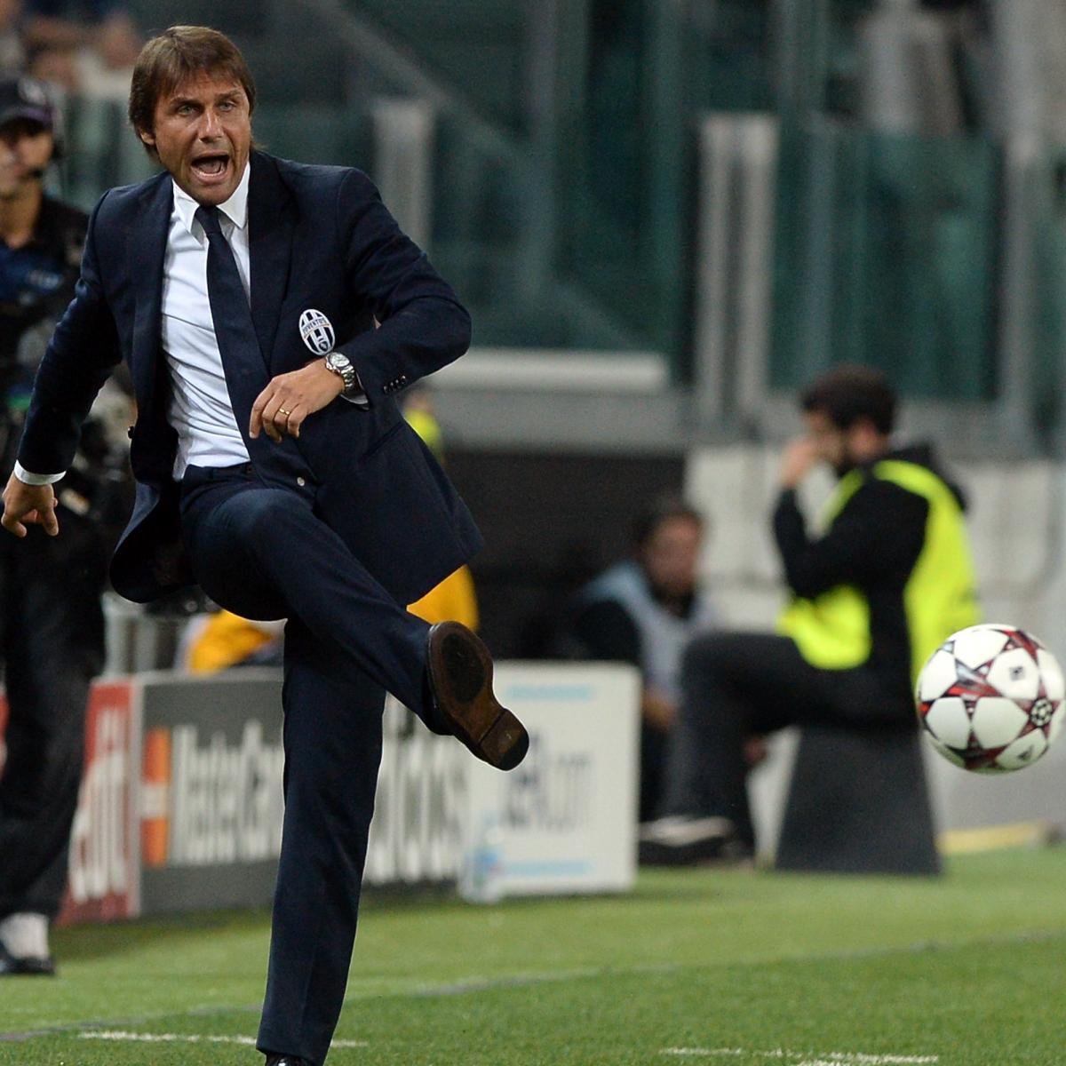 Juventus Fc Is Antonio Conte To Blame For Recent