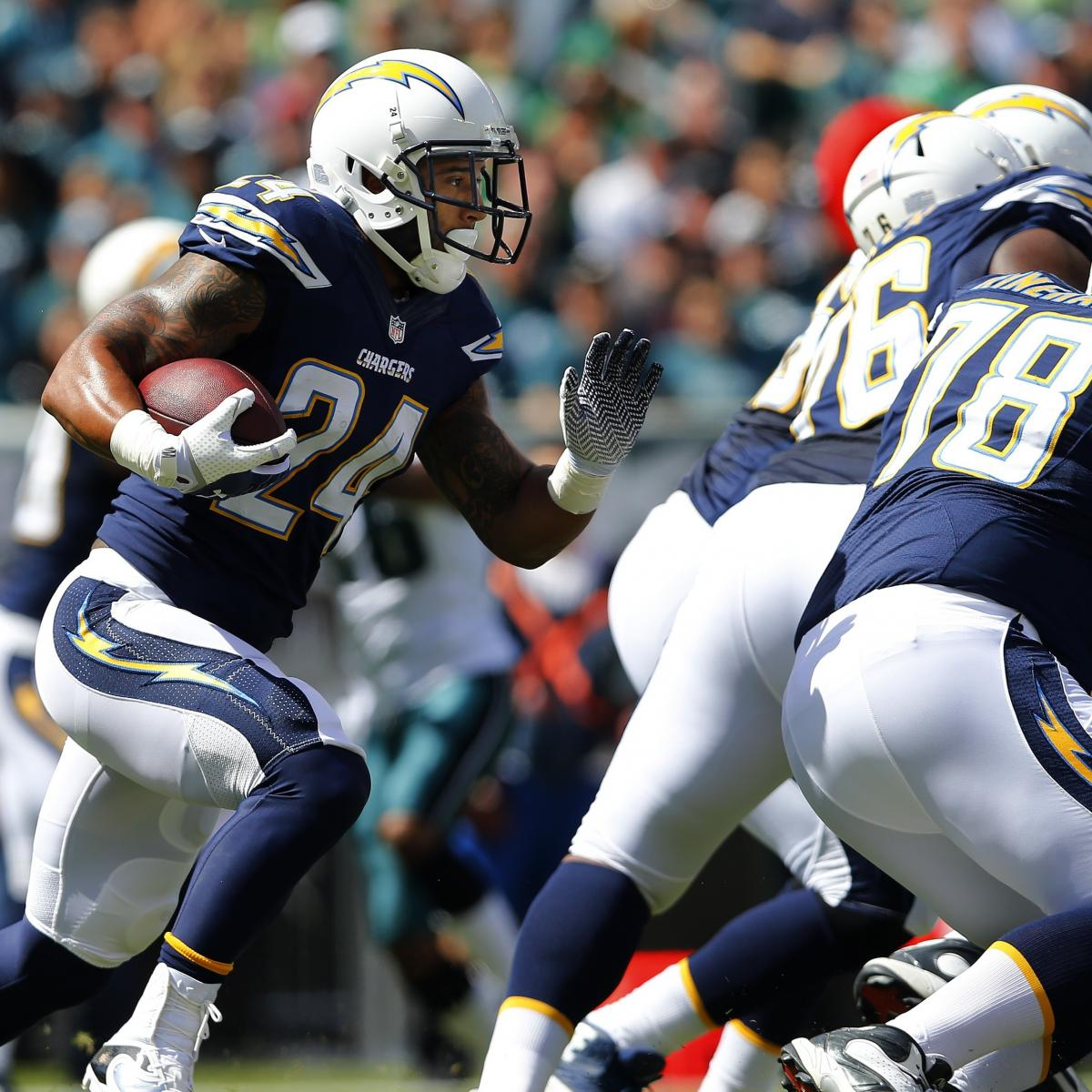 San Diego Chargers Broadcast: Ryan Mathews Injury: Updates On Chargers RB's Head, Likely