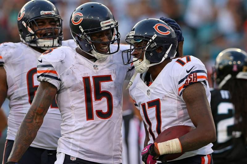 the best attitude 1885a 518ab Brandon Marshall Says Alshon Jeffery Could Be Best WR of All ...