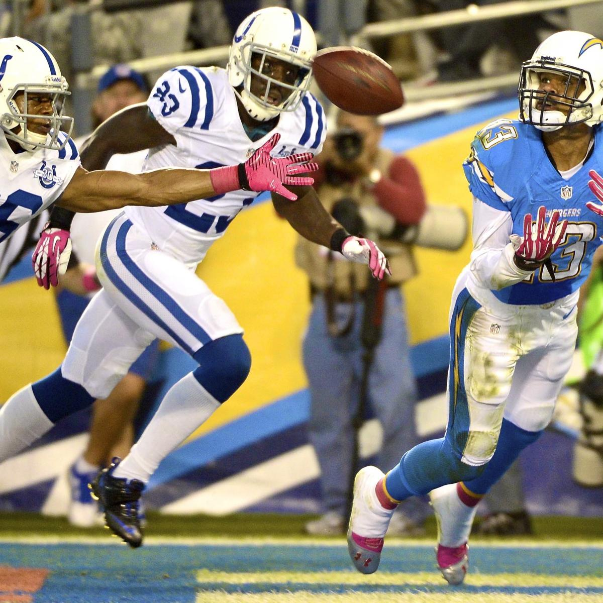 San Diego Chargers Current Score: Colts Vs. Chargers: Score, Grades And Analysis