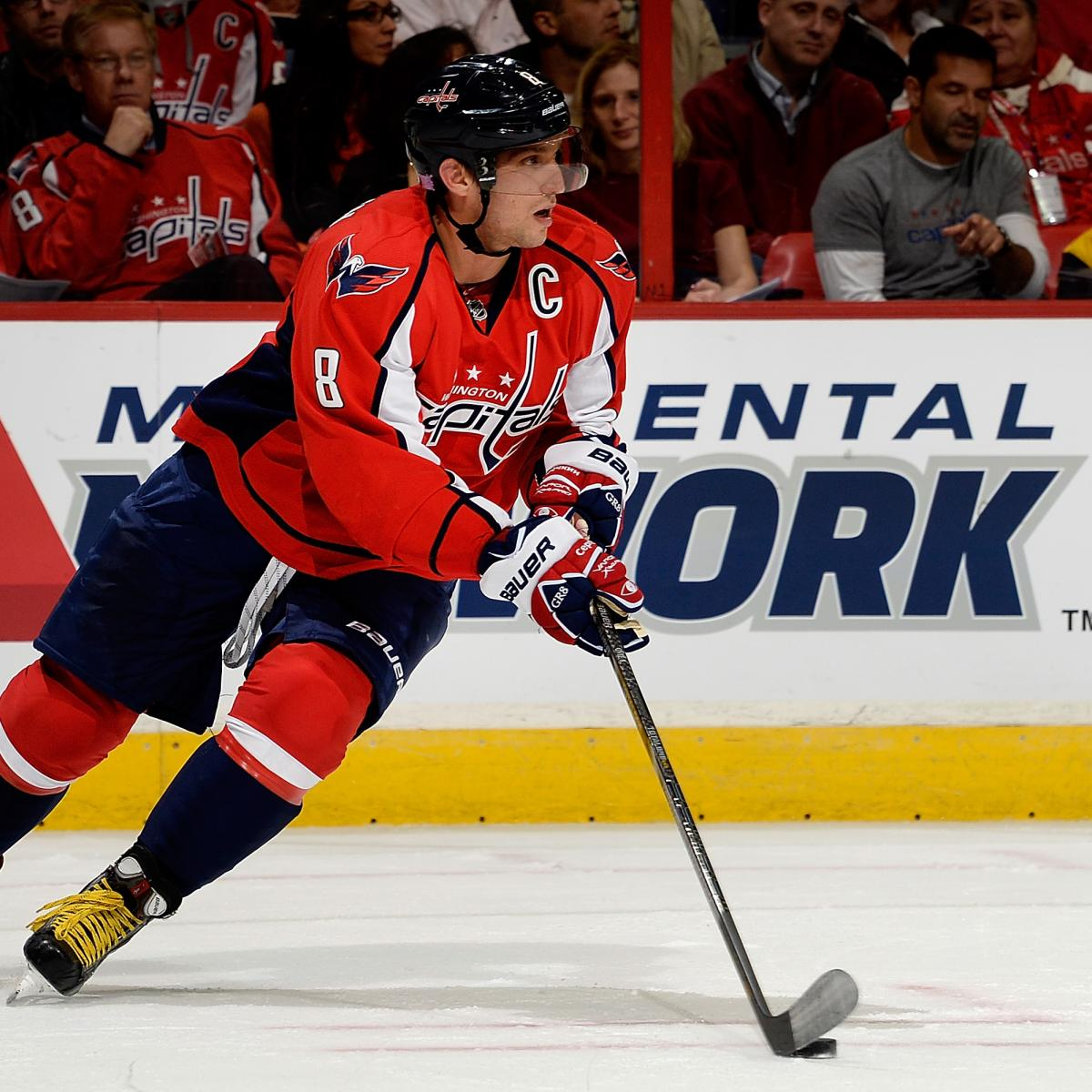 Projecting Alex Ovechkin s Stats for 2013-14 Season  4daff238d7f2
