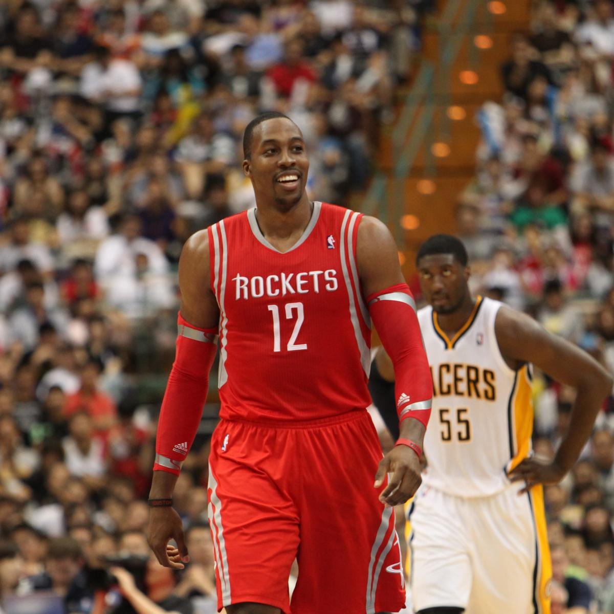 Rockets All Time Roster: Best Candidates To Challenge Dwight Howard As NBA's Best