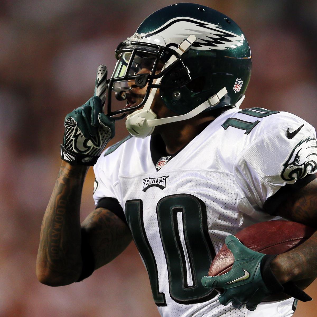 DeSean Jackson Injury: Updates on Eagles WR's Ankle ...