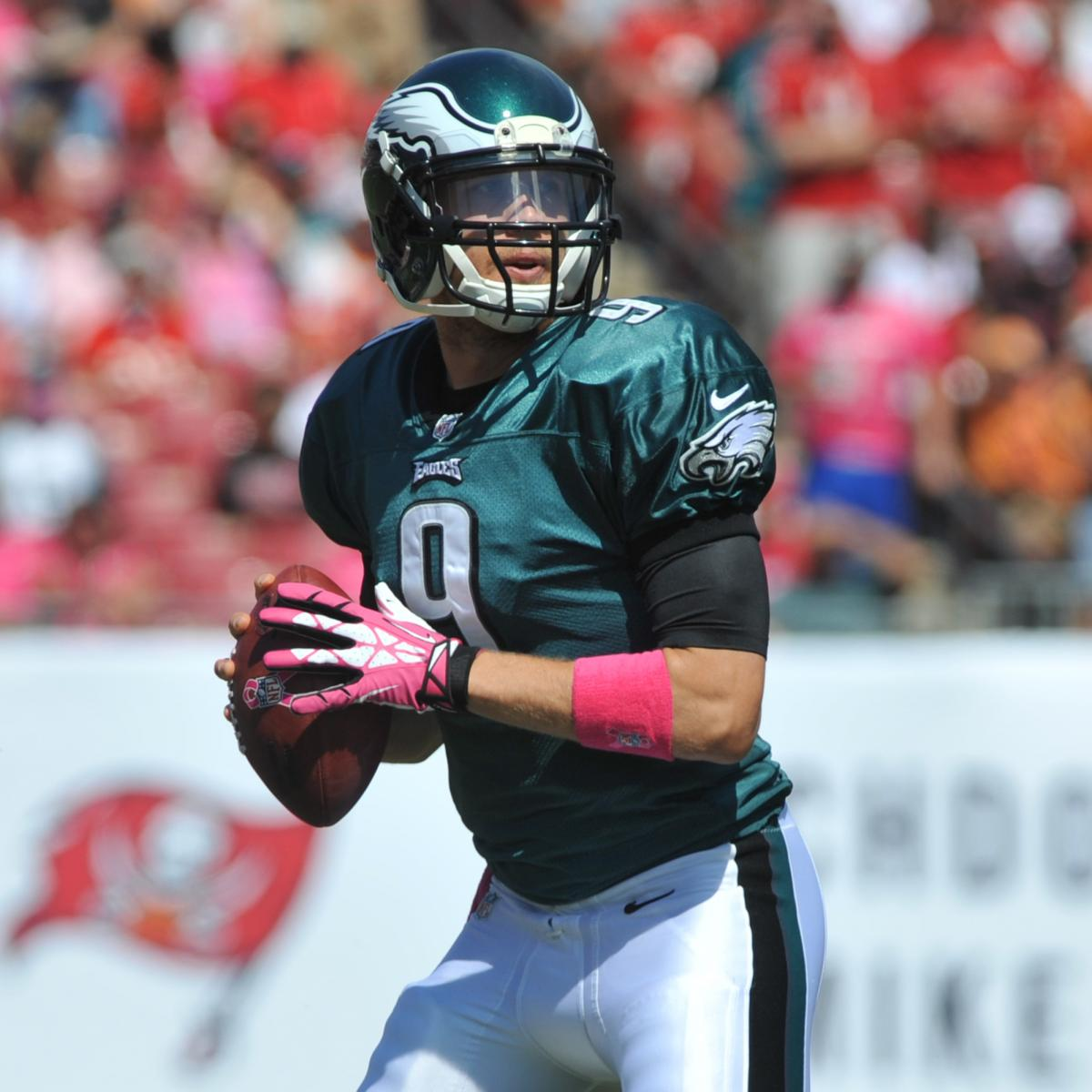 Nick Foles Injury Provides Opportunity For Eagles To Name