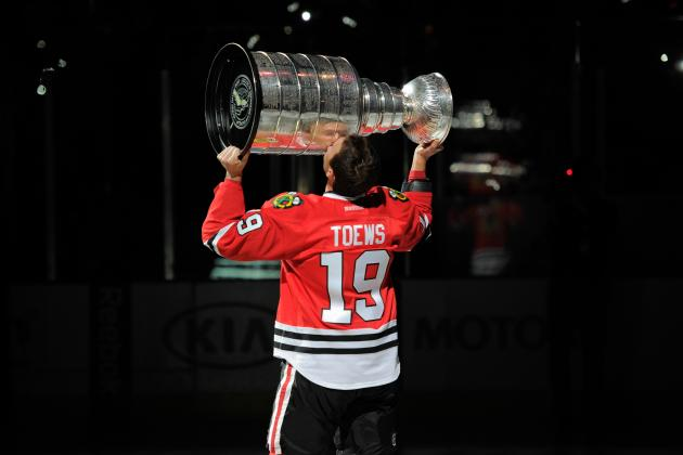 tracing the evolution of chicago blackhawks captain jonathan toews